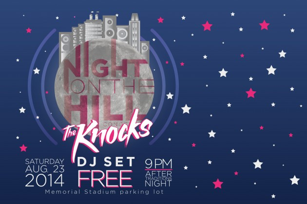 Night on the Hill 2014, featuring The Knocks DJ set